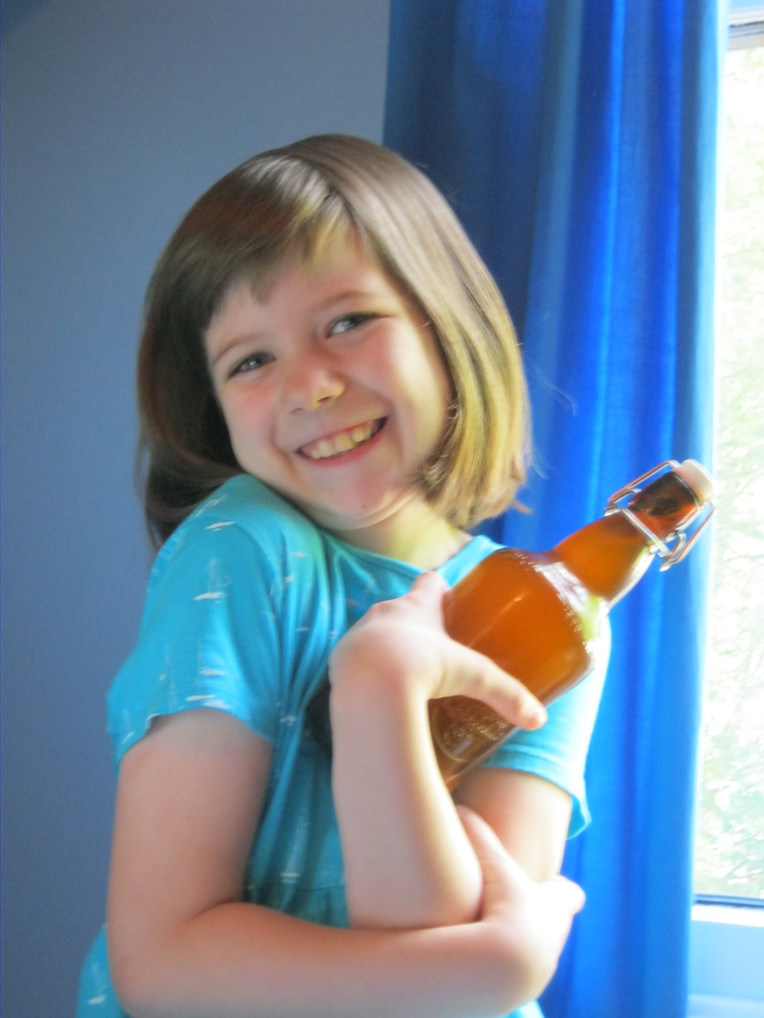 Kefired Lemonade:  Cheap, Sneaky Nutrition For Your Kids!