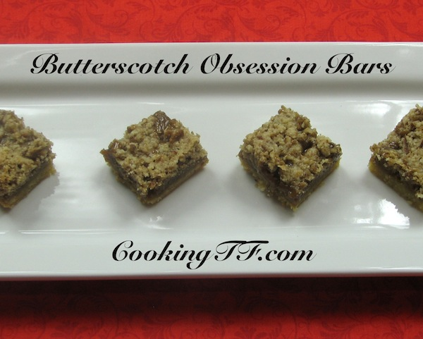 Butterscotch Obsession Bars: A Gluten and Grain-Free, Paleo Real Food Dessert
