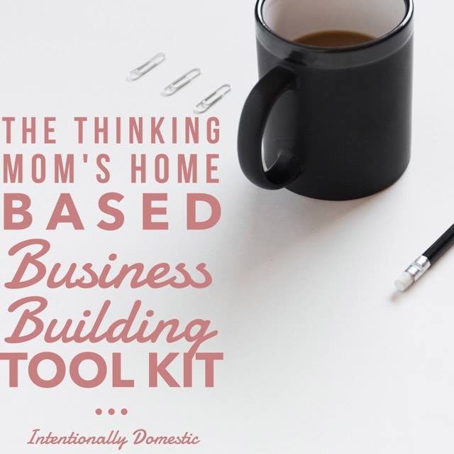 The Thinking Mom's Home-Based Business Building Took Kit